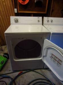 Hardly Used Washer & Dryer - Great Condition!