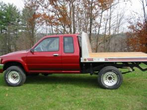 1994 TOYOTA PICKUP 4X4 XTRA-CAB-look--very nice!!!
